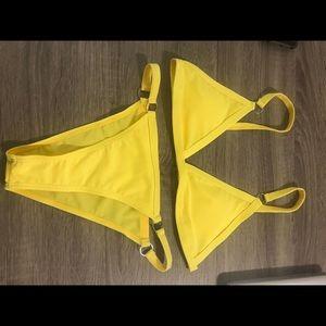 Yellow Bathing Suit
